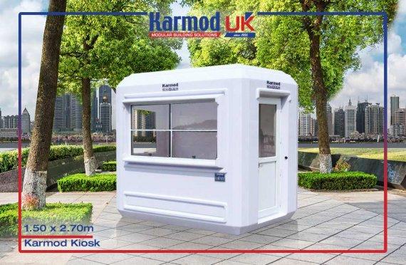 Modular Kiosk 150 X 270