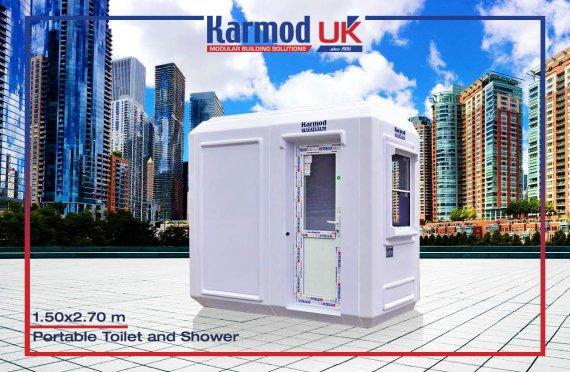 150x270 Portable Toilet & Shower Cabin