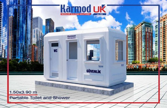 150x390 Mobile Toilets & Showers Units
