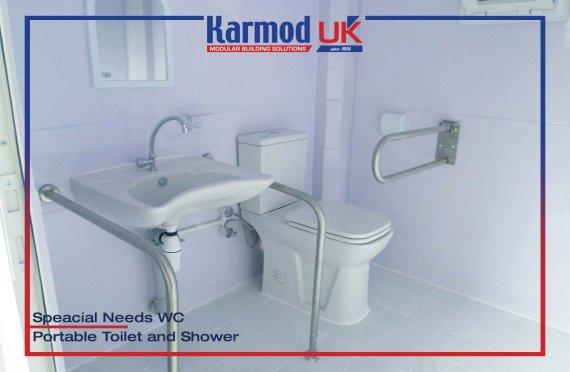 215x215 Mobile Toilets & Showers Units