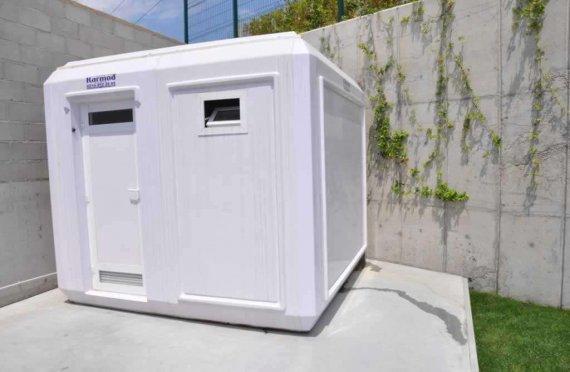 270x270 Portable Toilet & Shower Cabin
