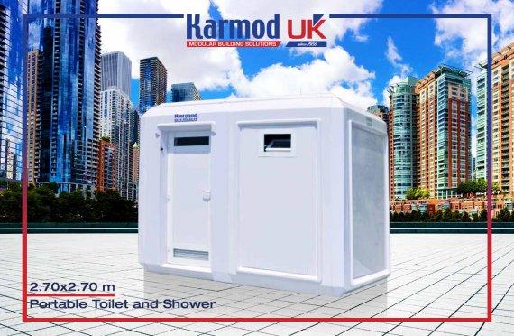270x270 Mobile Toilets & Showers Units