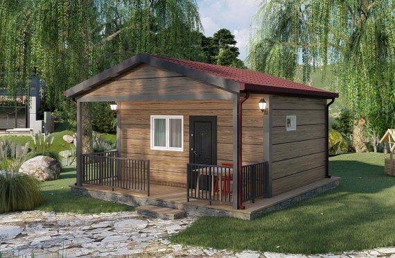 28 m2 Prefabricated House Model