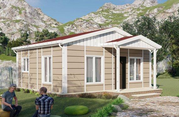 45 m2 Prefabricated House Model