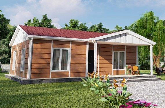 75 m2 Prefabricated House Model