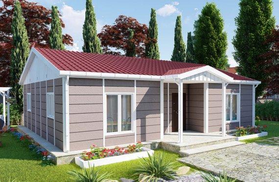 95 m2 Prefabricated House Model