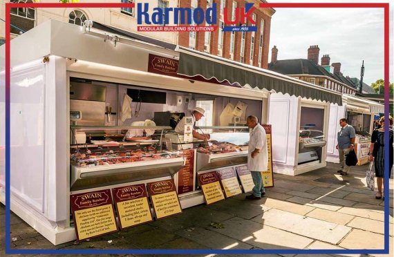 food kiosk for sale plan