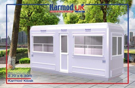 Modular Kiosk 270 X 630