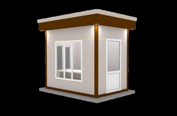 Modern Prefab Cabin 200x300