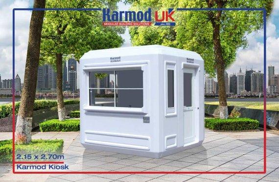 Modular Kiosk 215 X 215