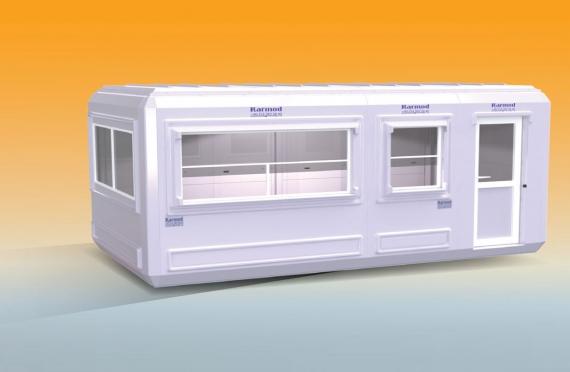 Modular Kiosk 270 X 510
