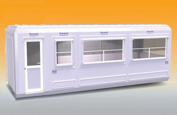 Modular Kiosk 270 X 750