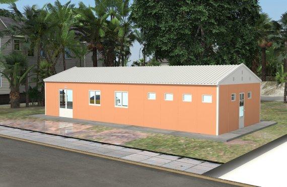 Modular Cafeteria 98 m²