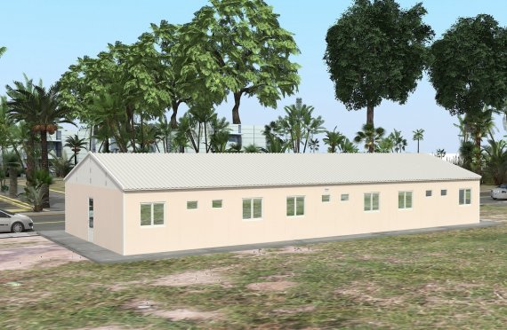 Modular Accommodation Unit 204 m²