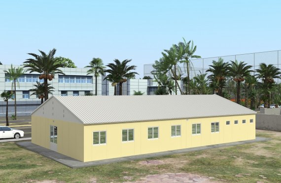 Modular Accommodation Unit 232 m²
