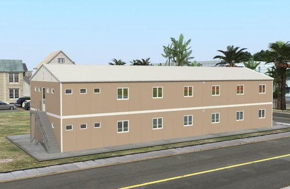 Modular Accommodation Unit 474 m²