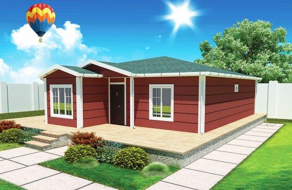 Mobile Homes 96 m²