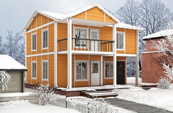 Prefab Homes 112 m²