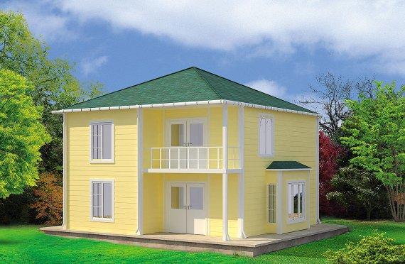 Prefab Homes 124 m²