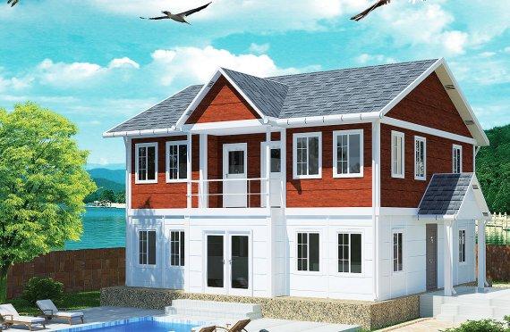 Prefab Homes 125 m²