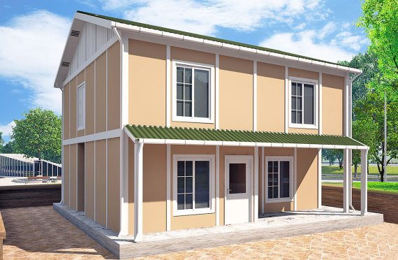 Prefab Homes 127 m²