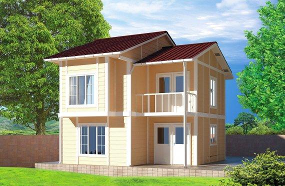 Prefab Homes 91 m²