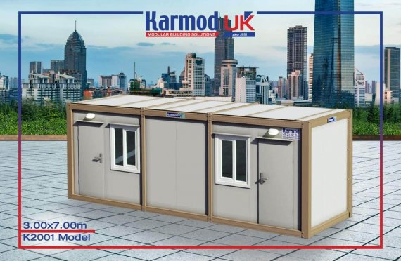 Flat Pack Containers UK K 2001