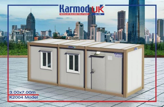 Flat Pack Containers UK K 2004