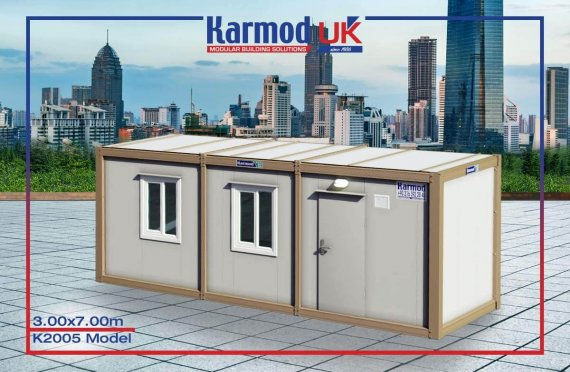Flat Pack Containers UK K 2005