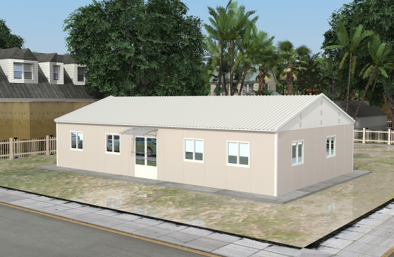 Modular Office Building 136 m²