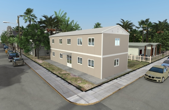 Modular Office Building 214 m²