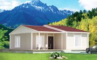 61 m² Prefabricated House