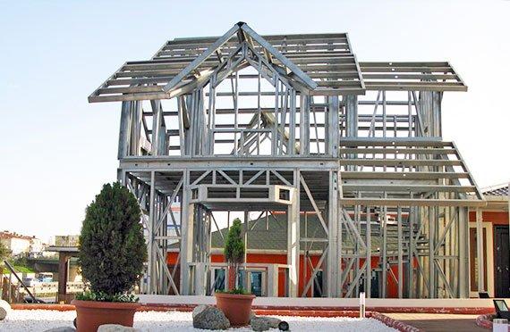 Steel Frame House