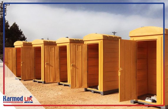 Plastic Mobile Chemical Toilets