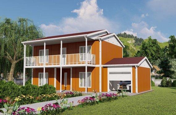 Duplex Prefabricated Houses