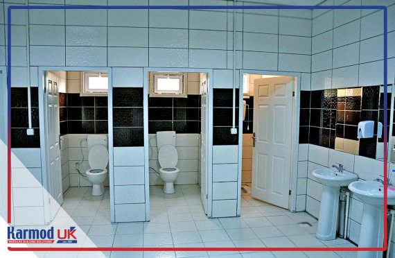 Toilet and Shower Blocks