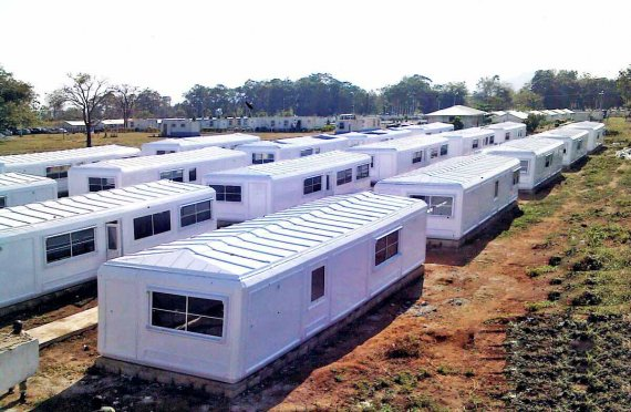 Karmod camps in Nigeria for UN peacekeepers