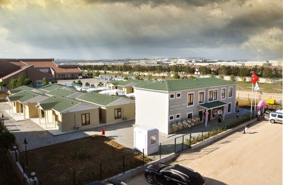 Cancer patients rehabilitation building from Karmod Prefabricated Technologies