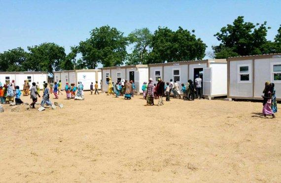 Nigeria mobile classroom & school project