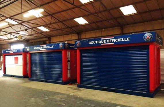 Karmod produced PSG Store Kiosks