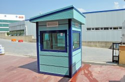 Ballistic guard booths