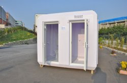 prefabricated wc
