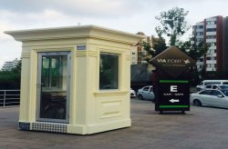 security kiosks gatehouses